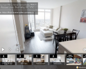3D walkthru Tour - Burnaby Highrise Condo Solo District for Sale - 3405 2008 ROSSER AVENUE Burnaby